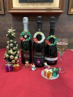 クリスマスに、誰もが飲みやすいスパークリングワイン