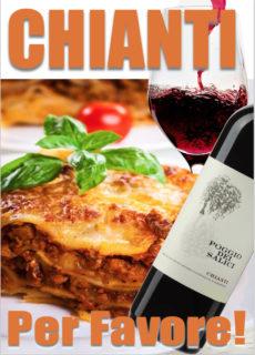 【店長おすすめ】イタリアらしいのどごしと程よい酸味 アツアツのラザニアの旨味を楽しませる一本
