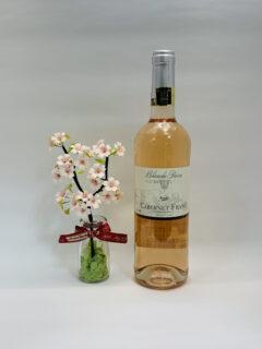 桜色のワインで お花見気分を